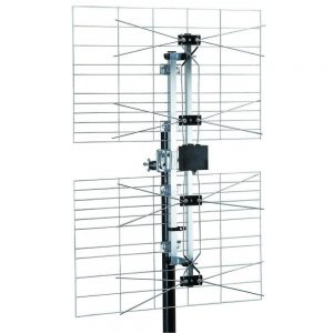 HDTV TV outdoor Antenna Professional Grade 4 Dipole Array