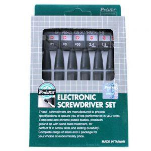 6Pcs Electronic Screwdriver Set