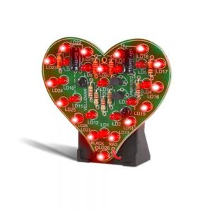 FLASHING LED SWEETHEART