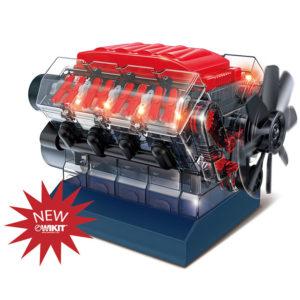 Vroom! STEM V8 Model Combustion Engine